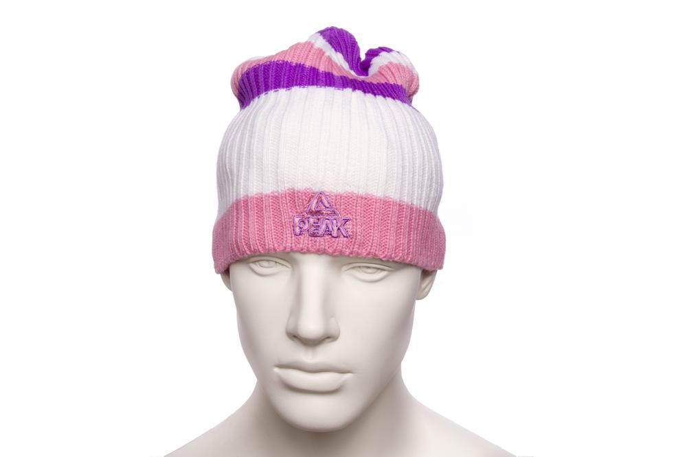 peak knitted cap