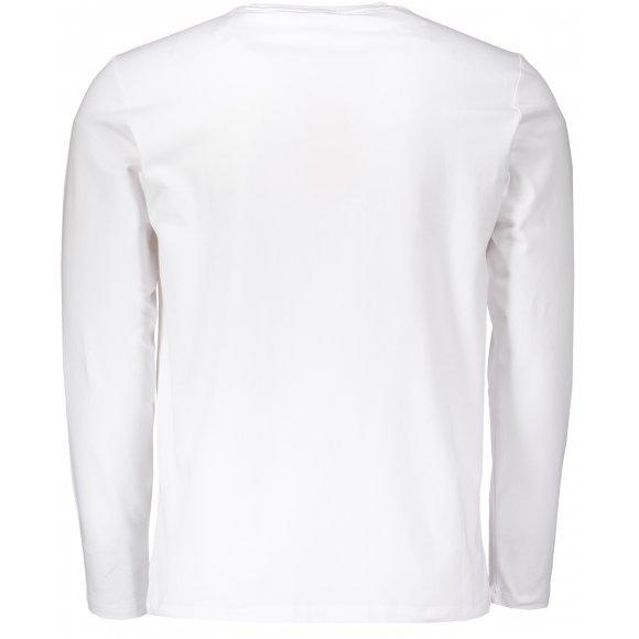 peak round neck long t shirt