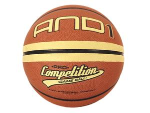 AND1 competition game ball, velikost 7; 16 panels, PU micro fiber