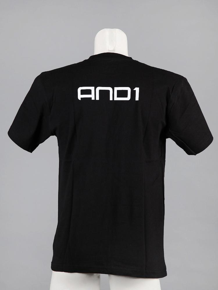 and1 ss tee brandmark logo team