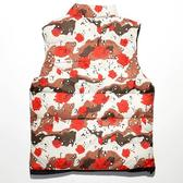 desert rose reversible vest