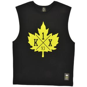 core leaf sleeveless tee