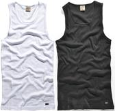 authentic double impact wifebeater f3