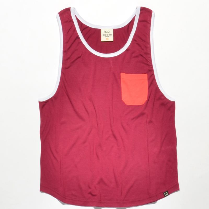 k1x wmns loose pocket tank top