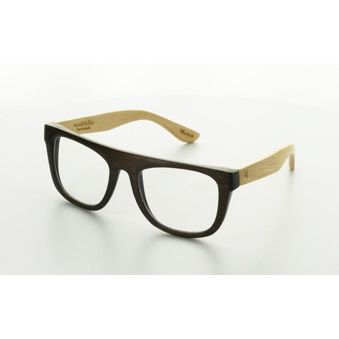 masterdis wood fellas sunglasses mino (clear glass)