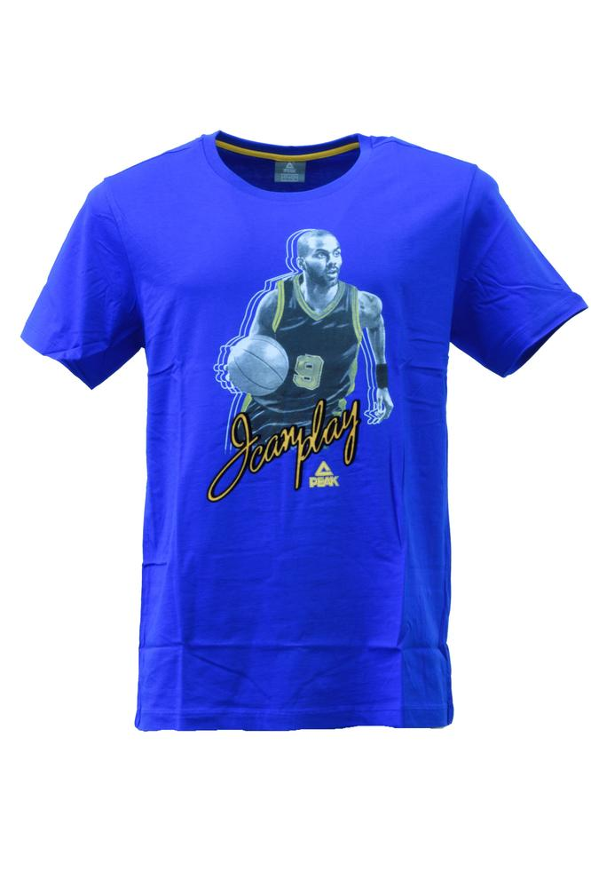 peak tony parker round neck t shirt