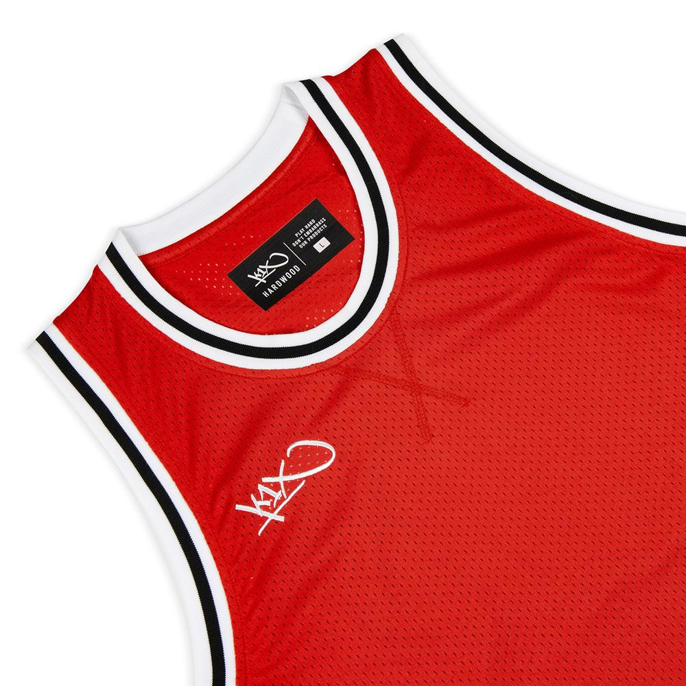 k1x hardwood big hole mesh double x jersey